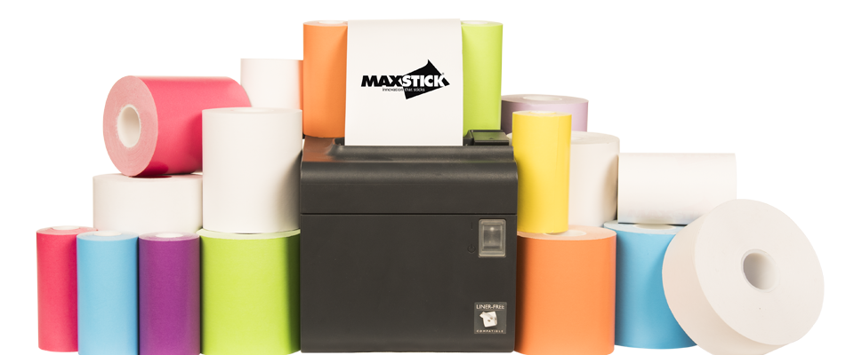 MAXStick | The world's first liner-free, repositionable